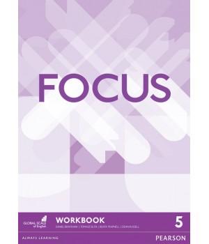 Робочий зошит Focus 5 (C1) Workbook