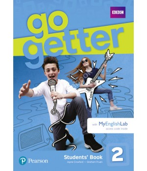 Підручник Go Getter 2 Students' Book with MyEnglishLab