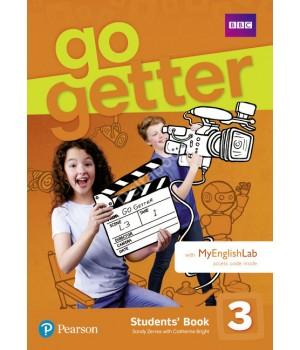 Підручник Go Getter 3 Students' Book with MyEnglishLab