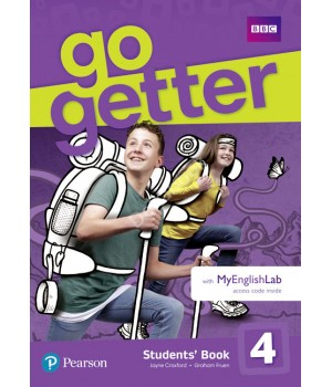 Підручник Go Getter 4 Students' Book with MyEnglishLab