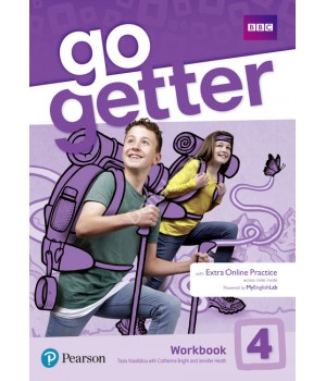 Рабочая тетрадь Go Getter 4 Workbook with Access code for Extra Online Practice