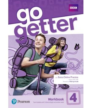 Робочий зошит Go Getter 4 Workbook with Access code for Extra Online Practice