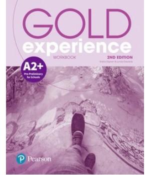 Рабочая тетрадь Gold Experience Second Edition A2+ Workbook