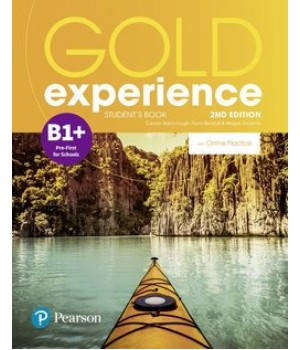 Підручник Gold Experience Second Edition B1+ Student's Book with Online Practice