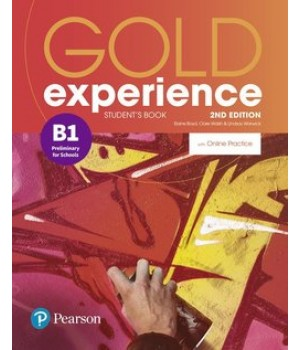 Підручник Gold Experience Second Edition B1 Student's Book with Online Practice