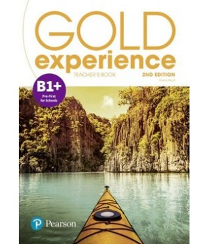 Книга для вчителя Gold Experience Second Edition B1+ Teacher's Book
