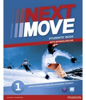 Підручник Next Move 1 (A1) Student's Book with MyEnglishLab