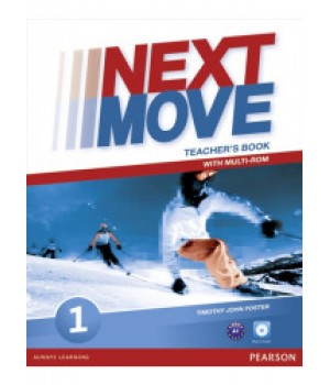 Книга для вчителя Next Move 1 (A1) Teacher's Book + Multi-ROM