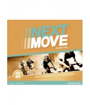 Диски Next Move 2 (A2) Class Audio CDs (Set of 3)