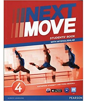 Підручник Next Move 4 (B1) Student's Book with MyEnglishLab