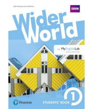 Підручник Wider World 1 Student's Book with MyEnglishLab