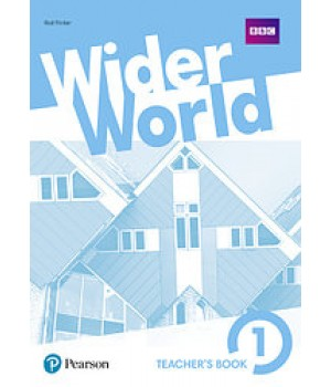 Книга для вчителя Wider World 1 Teacher's Book + DVD