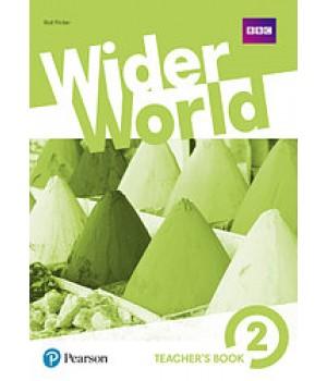 Книга для учителя Wider World 2 Teacher's Book + DVD