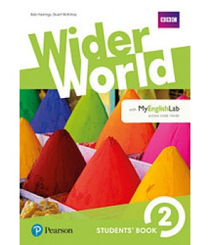 Учебник Wider World 2 Student's Book with MyEnglishLab
