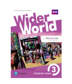 Підручник Wider World 3 Student's Book with MyEnglishLab