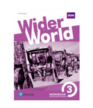 Робочий зошит Wider World 3 Workbook with Online Homework
