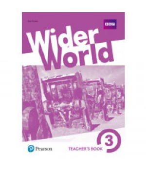 Книга для вчителя Wider World 3 Teacher's Book + DVD