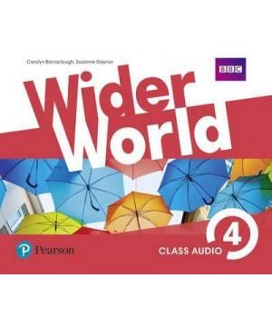 Диски Wider World 4 Class CD (4)