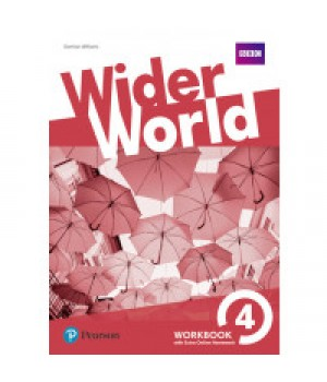 Робочий зошит Wider World 4 Workbook with Online Homework