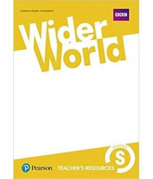 Книга для вчителя Wider World Starter Teacher's Resource Book
