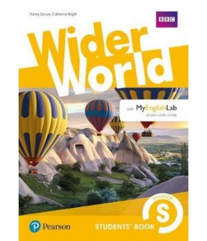 Підручник Wider World Starter Student's Book with MyEnglishLab