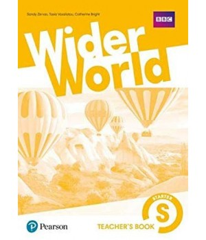 Книга для вчителя Wider World Starter Teacher's Book + DVD