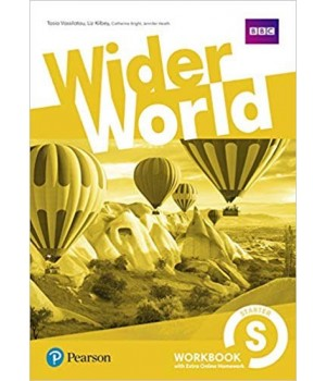 Робочий зошит Wider World Starter Workbook with Online Homework