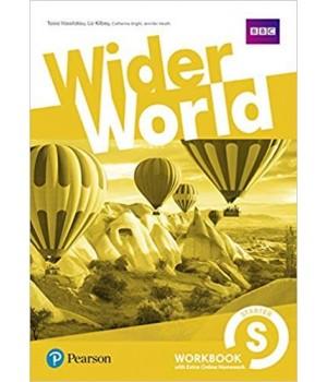 Рабочая тетрадь Wider World Starter Workbook with Online Homework