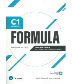 Книга для вчителя Formula C1 Advanced Teacher's Book with eBook