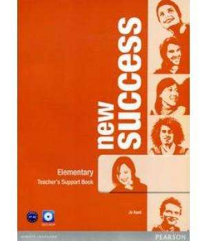 Книга для вчителя New Success Elementary Teacher's Book & DVD-ROM Pack