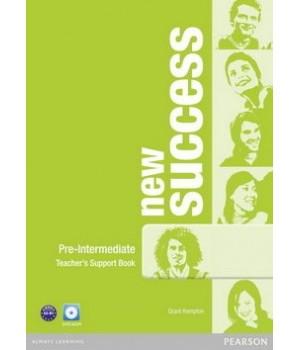 Книга для вчителя New Success Pre-Intermediate Teacher's Book & DVD-ROM Pack