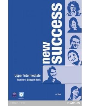 Книга для вчителя New Success Upper Intermediate Teacher's Book & DVD-ROM Pack