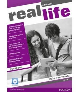 Робочий зошит Real Life Advanced Workbook + Multi-ROM