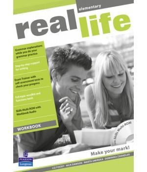 Робочий зошит Real Life Elementary Workbook + Multi-ROM