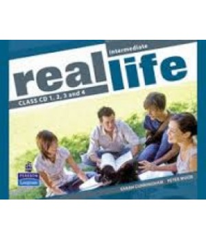 Диски Real Life Intermediate Class Audio CDs (4)