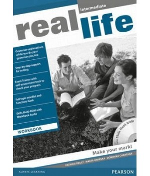 Робочий зошит Real Life Intermediate Workbook + Multi-ROM
