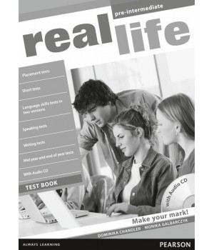 Тесты Real Life Pre-Intermediate Test Pack