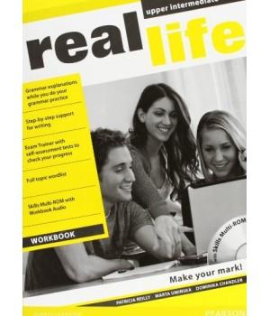 Робочий зошит Real Life Upper-Intermediate Workbook + Multi-ROM