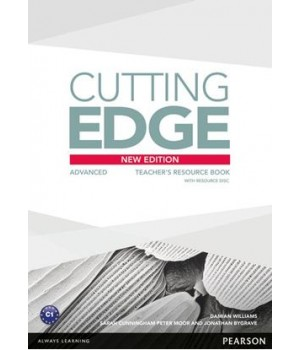Книга для вчителя Cutting Edge Advanced 3rd edition Teacher's Book with Teacher's Resources Disk Pack