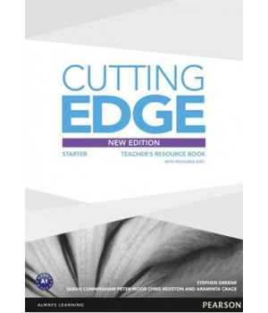 Книга для вчителя Cutting Edge Starter 3rd edition Teacher's Book with Teacher's Resources Disk Pack