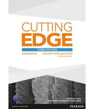 Книга для вчителя Cutting Edge Intermediate 3rd edition Teacher's Book with Teacher's Resources Disk Pack