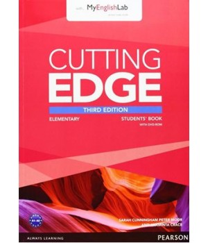 Підручник Cutting Edge Elementary 3rd edition Student Book with DVD and myEnglishLab