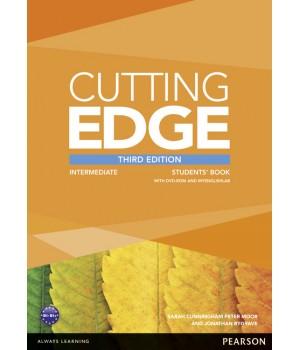 Учебник Cutting Edge Intermediate 3rd edition Student Book with DVD and myEnglishLab