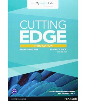 Підручник Cutting Edge Pre-intermediate 3rd edition Student Book with DVD and myEnglishLab