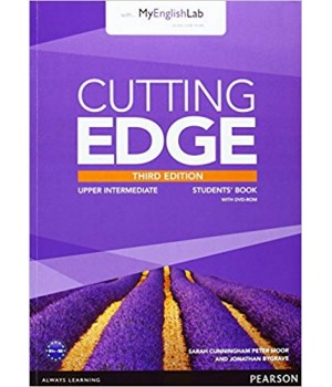 Підручник Cutting Edge Upper-Intermediate 3rd edition Student Book with DVD and myEnglishLab