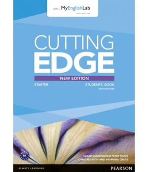 Підручник Cutting Edge Starter 3rd edition Student Book with DVD and myEnglishLab