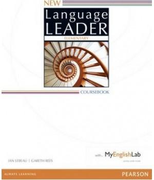 Підручник New Language Leader Elementary Coursebook with MyEnglishLab