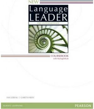 Підручник New Language Leader Pre-intermediate Coursebook with MyEnglishLab