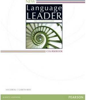 Підручник New Language Leader Pre-intermediate Course Book