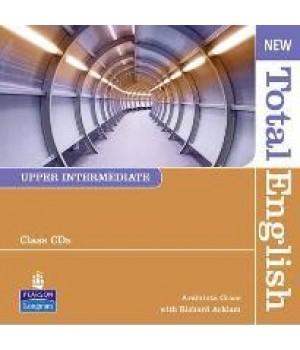 Диски New Total English Upper Intermediate Class Audio CD